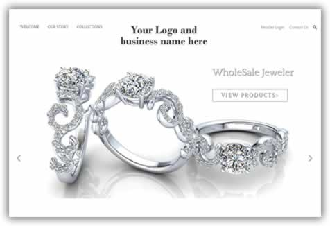 Wholesale Jewelers pre-built site